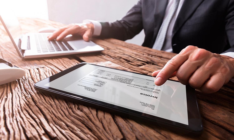 Energy invoice validation service